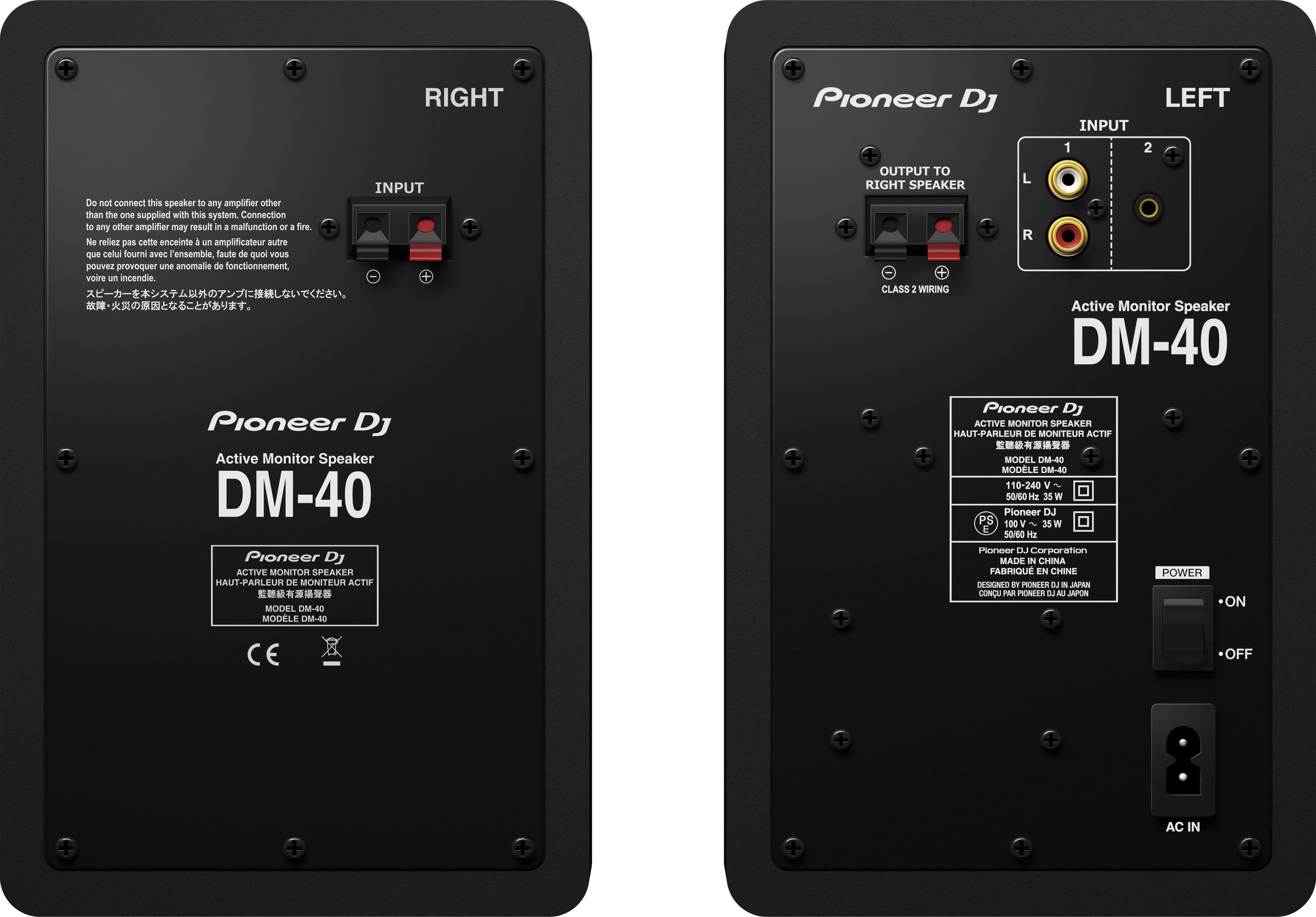 Pioneer dj devoile les enceintes de monitoring dm les numériques