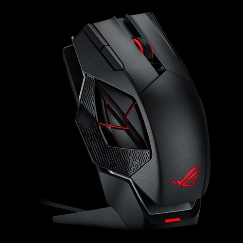 asus rog spatha une souris gamer sans fil haut de gamme. Black Bedroom Furniture Sets. Home Design Ideas