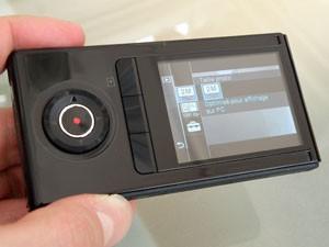 Sony bloggie 3D test review écran 3d