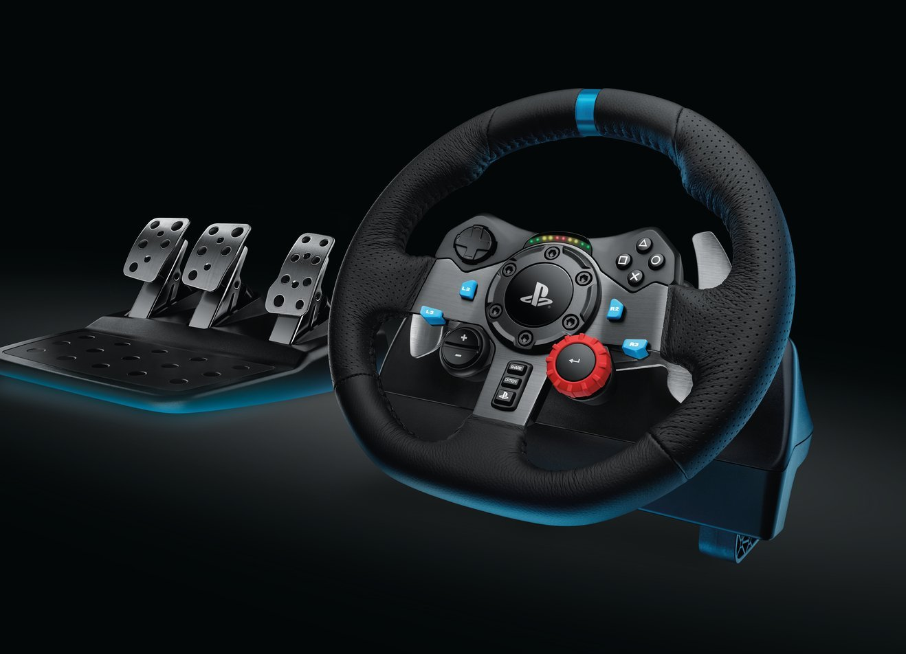 logitech g29 test prix et fiche technique volant les num riques. Black Bedroom Furniture Sets. Home Design Ideas