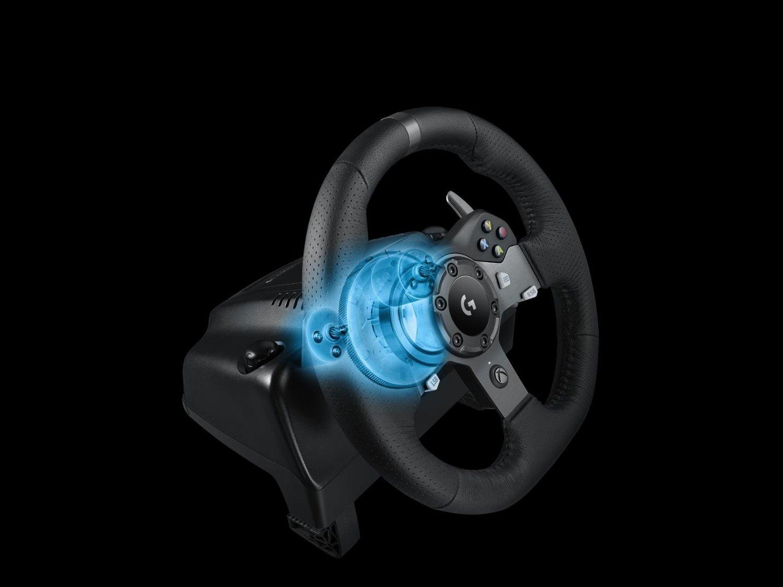 eaec8e7d773 TEST / Logitech G920, volant et pédalier haut de gamme pour Xbox One et PC