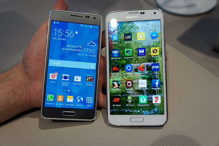 Samsung Galaxy Alpha : Test complet - Smartphone