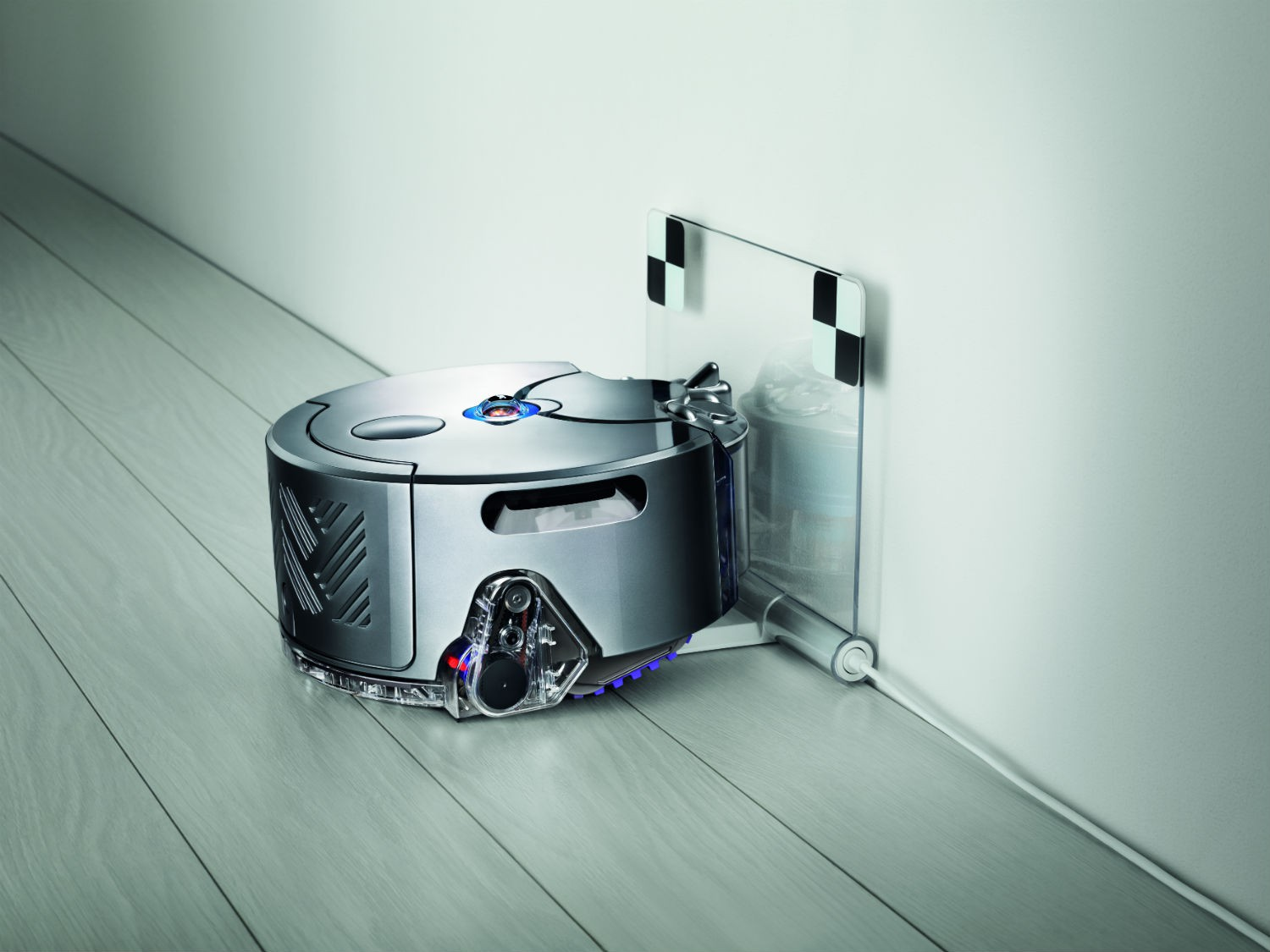 dyson 360 eye test complet aspirateur robot les. Black Bedroom Furniture Sets. Home Design Ideas