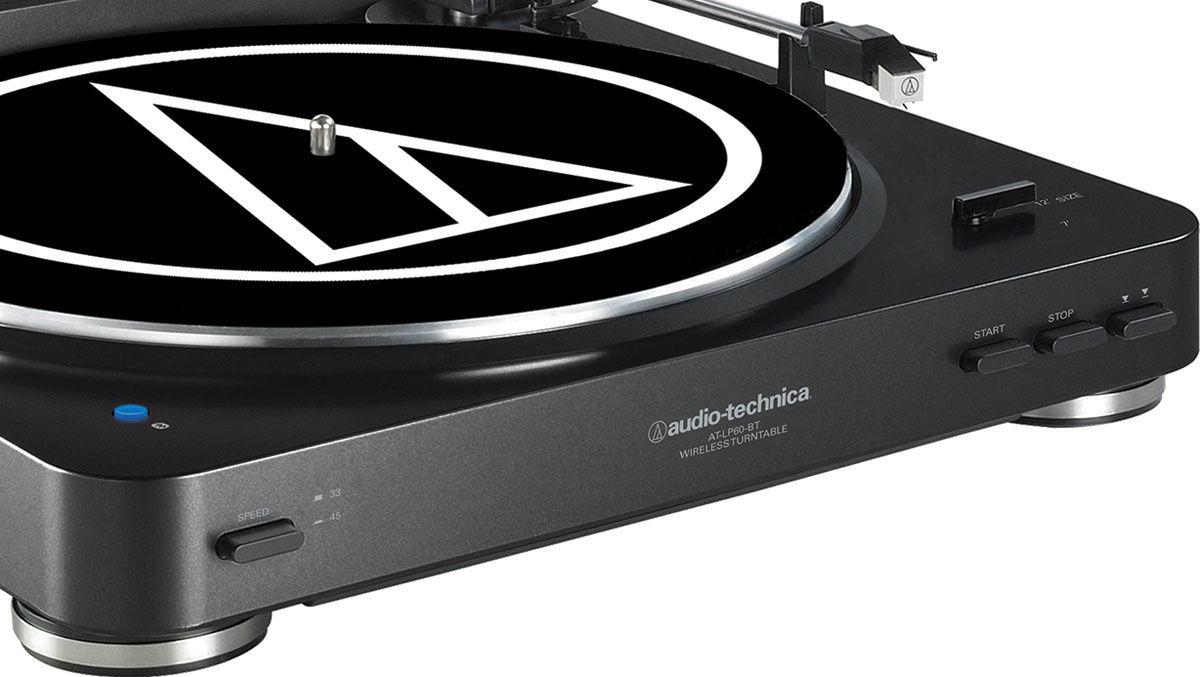 at-lp60bt, la nouvelle platine vinyle d'audio technica - les numériques