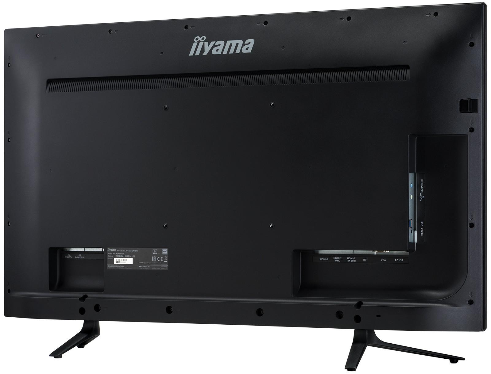 un moniteur de 40 pouces chez iiyama les num riques. Black Bedroom Furniture Sets. Home Design Ideas