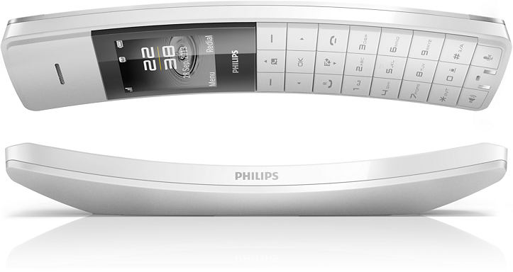 philips m8881ww 10 test prix et fiche technique t l phone fixe les num riques. Black Bedroom Furniture Sets. Home Design Ideas