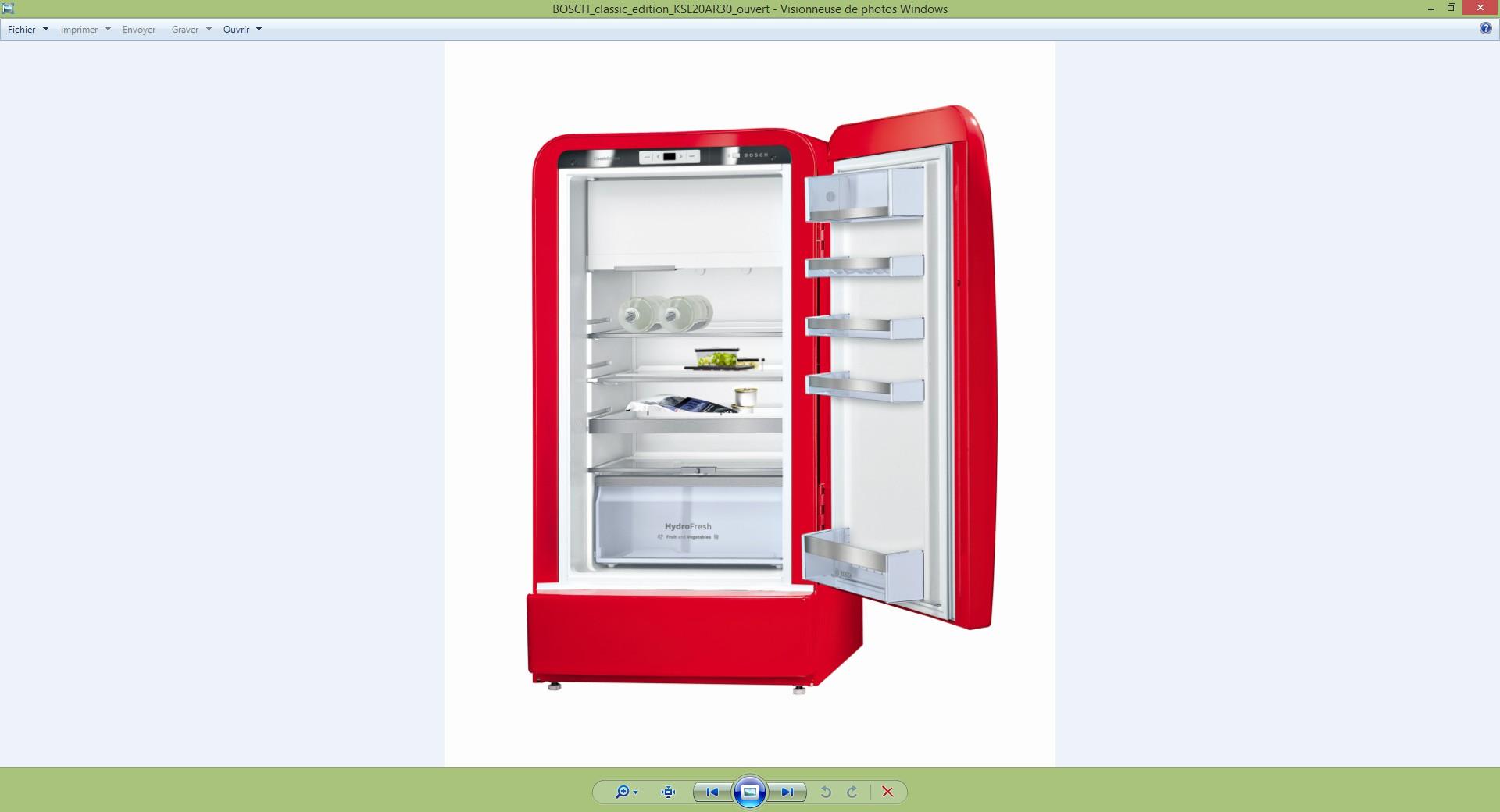 Bosch Présente Ses Nouveaux Réfrigérateurs Colorés Au Look