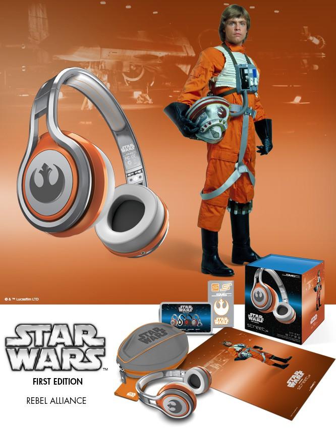 Des casques SMS Audio aux couleurs de Star Wars