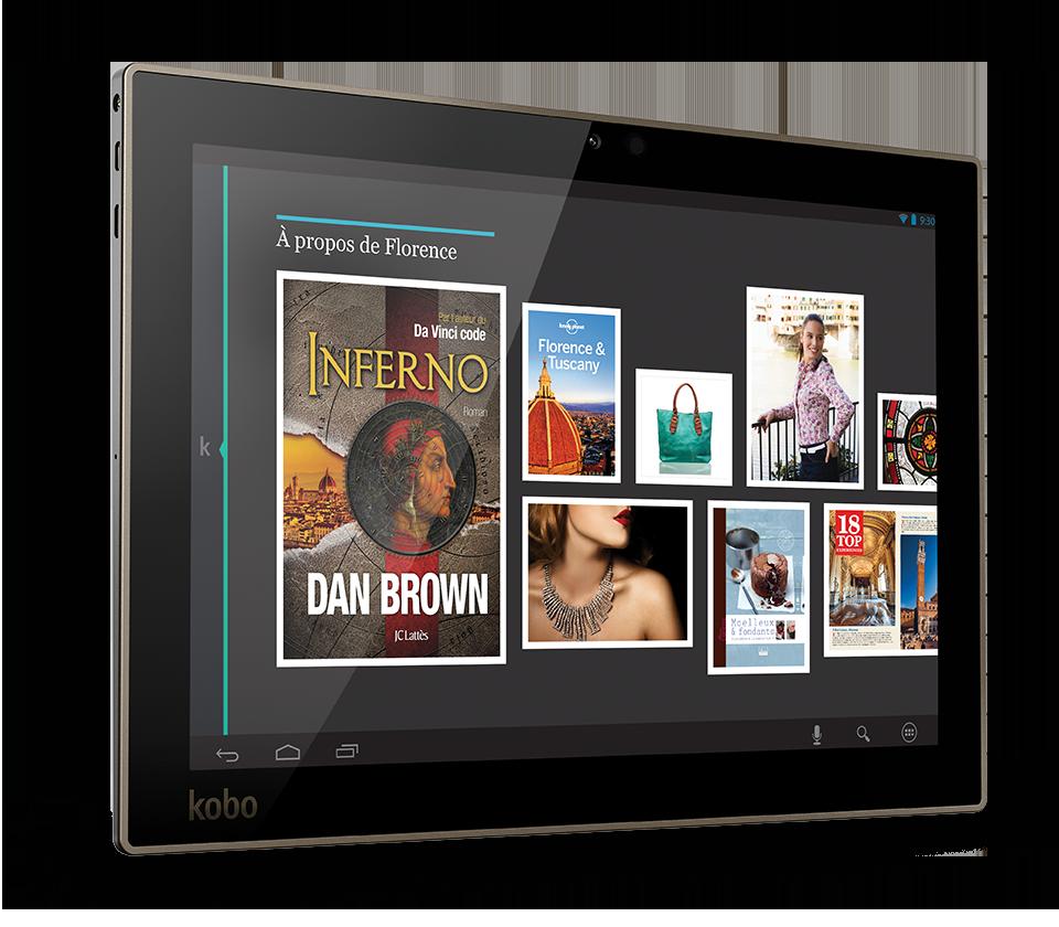 ifa prise en main et photos de la tablette kobo arc 10hd. Black Bedroom Furniture Sets. Home Design Ideas