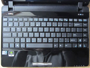 Asus Eee PC 1201N keyboard