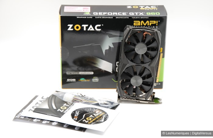 Zotac GeForce GTX 960 Amp Edition box