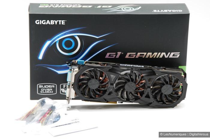 Gigabyte GV N960G1 Gaming 2GD box