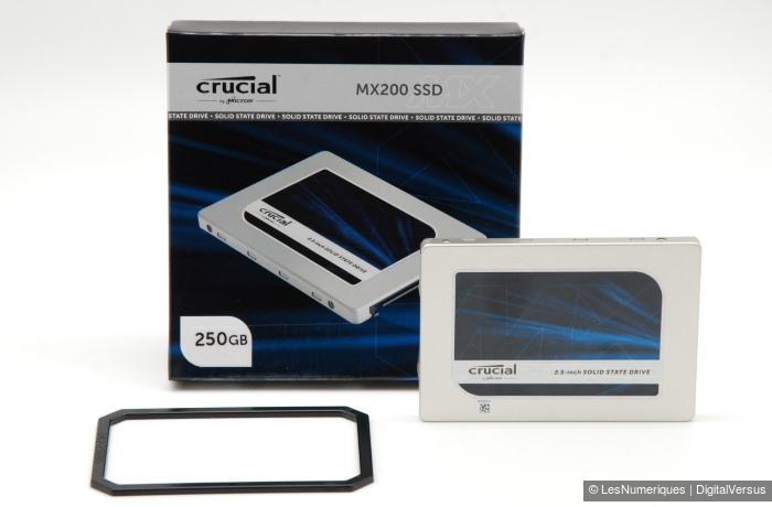 Crucial MX200 250GB box