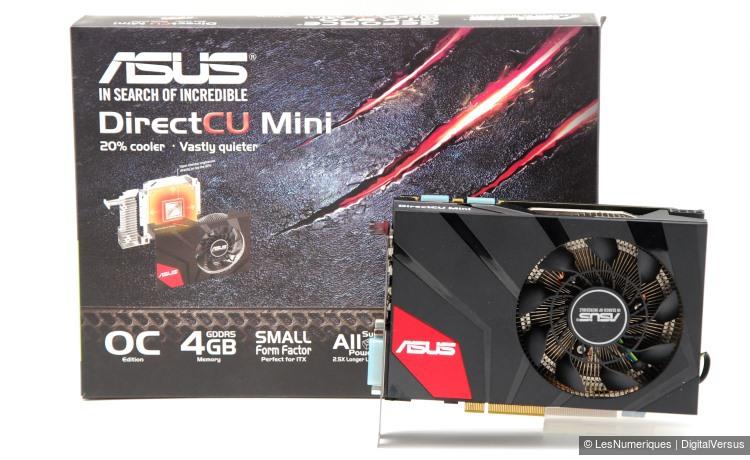 Asus GeForce GTX 970 DirectCU Mini box