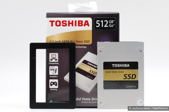 Toshiba Q300 Pro 512GB box