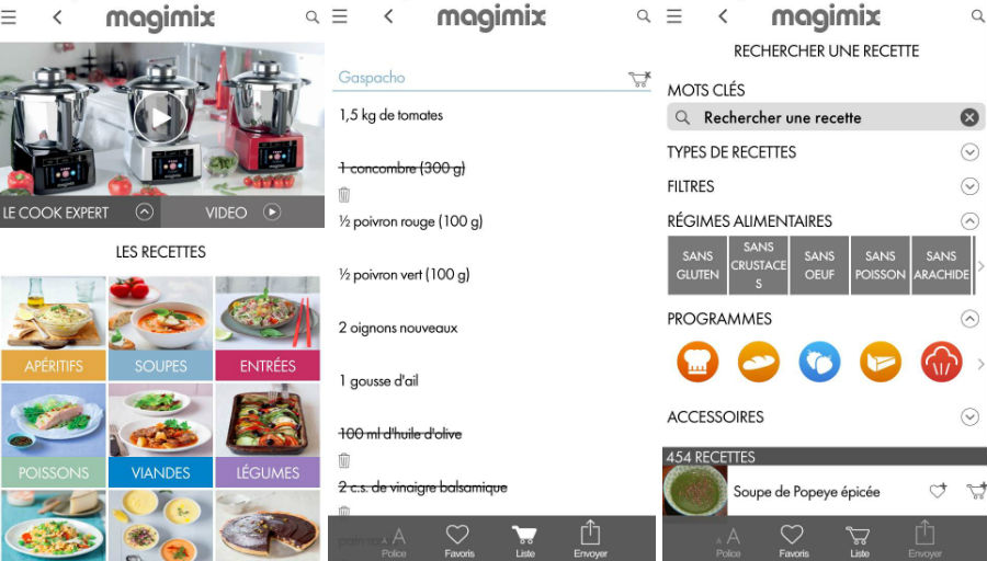 Magimix Cook Expert appli