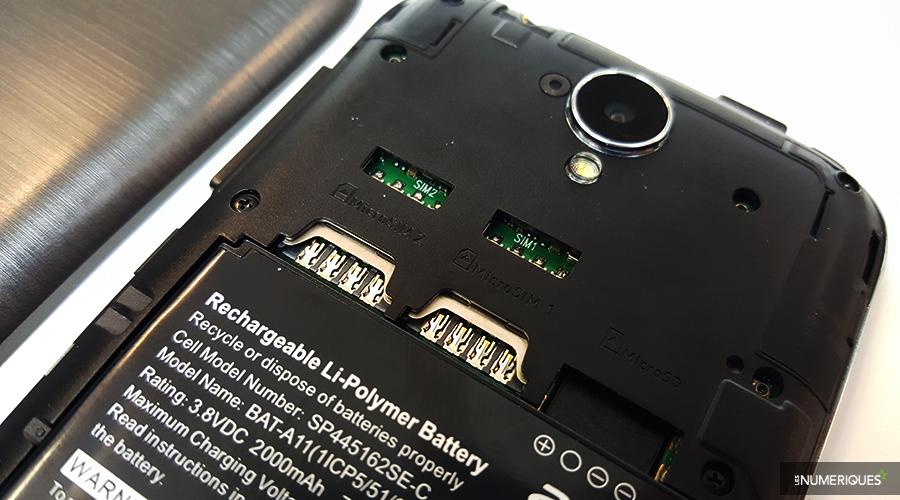 Acer Z330 Test SIM
