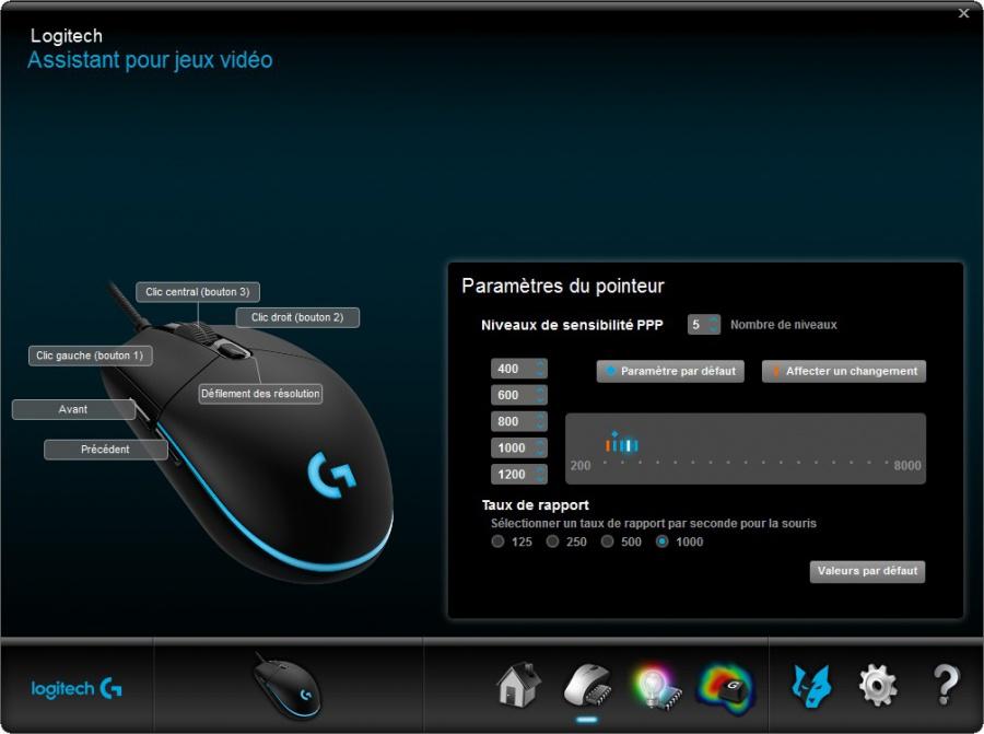 Logitech - Assistant pour jeux vidéo - G203.jpg