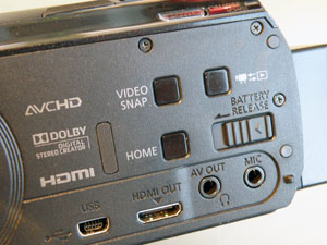 Canon hfm52 prises