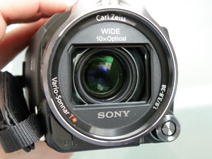 Sony Cx740 lentille test review