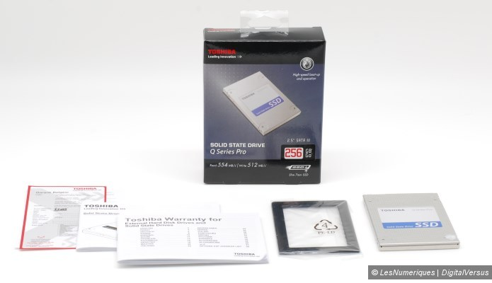 Toshiba q series pro 256gb box
