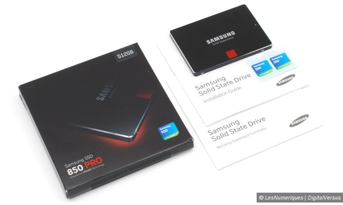 Samsung 850 pro 512gb box