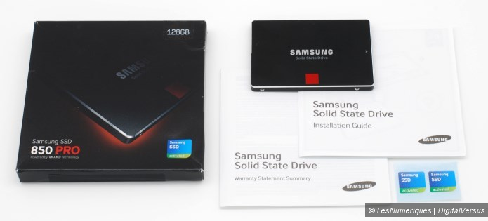 Samsung 850 pro 128gb box