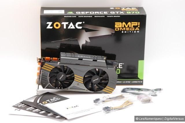 Zotac geforce gtx 970 amp omega box