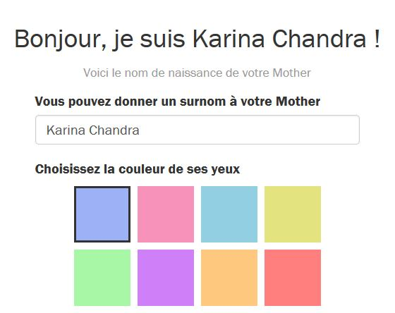 Personnalisation Mother(1)