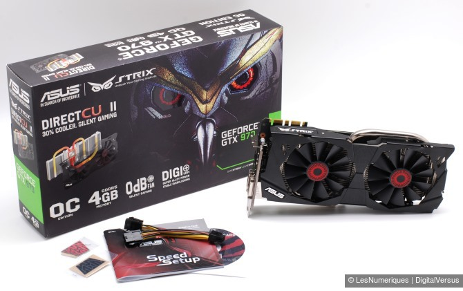 Asus geforce gtx 970 strix box