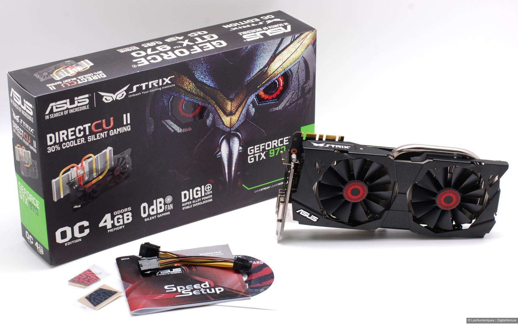 Asus GeForce GTX 970 Strix OC : Test complet - Carte ...