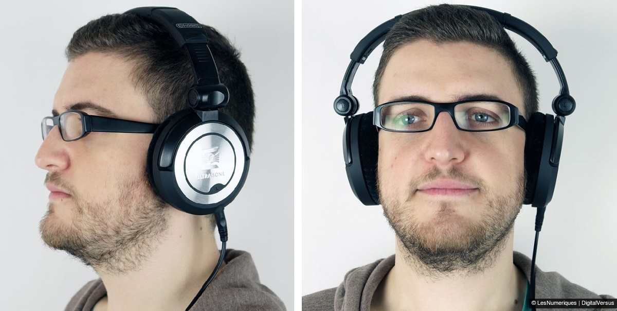 casque audio sur tete